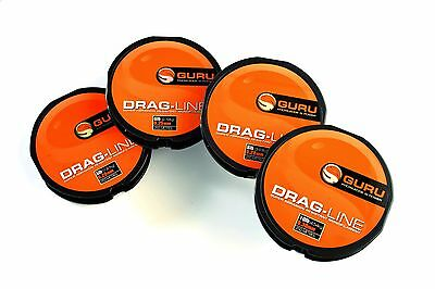 Guru Drag Line 250m - All The Breaking Strains • 6.40£