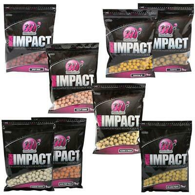 MAINLINE New High Impact BOILIES 15mm 1kg **FULL RANGE** • 13.34£