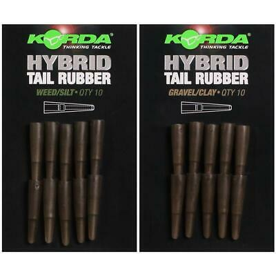 NEW Korda Hybrid Tail Rubber *All Colours* • 4.39£