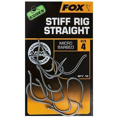 Fox Edges 2017 Armapoint Arma Point Hooks Micro Barbed **ALL SIZES** • 4.69£