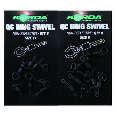 Korda Quick Change  Swivels • 4.39£