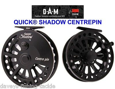Dam Quick Shadow Centrepin Reel Center Pin For Sea Game Trout Fly Rod Fishing • 59£