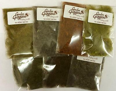 Gordon Griffiths Hares Ear Dubbing - Natural And Dyed (DUBHE) • 2.99£