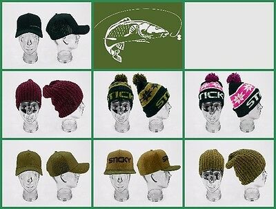 Sticky Baits Beanie, Bobble, Id Cap, Snap Cap - All The Hats / Caps • 11.99£