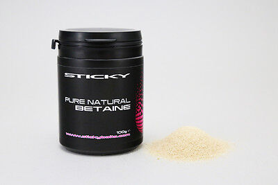 STICKY BAITS New PURE NATURAL BETAINE - 100g - BET • 7.99£