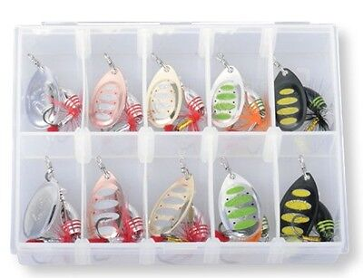 Savage Gear Rotex Spinner Kits 10 Spinners And Box  Crazy Price • 15.99£