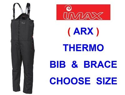 2020 Imax Arx Thermo Bib & Brace Sea Surf Boat Cod Fishing Skiing Hiking Sailing • 49.50£