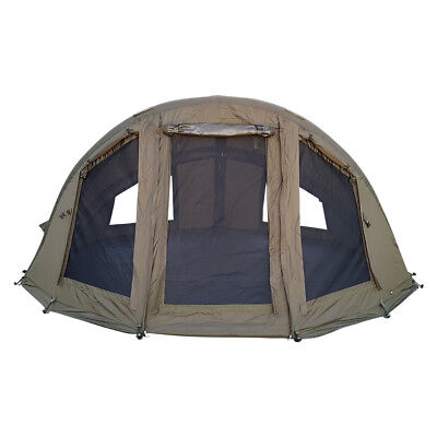 Abode® Air Inflatable 2 Man Camper Bivvy Dome Carp Fishing Shelter • 349.99£