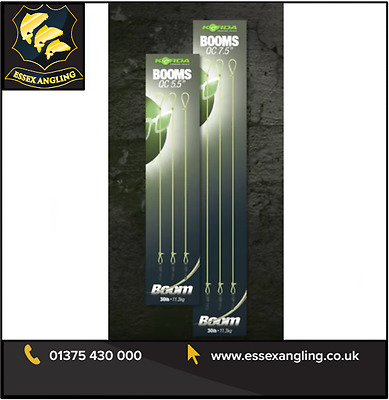 Korda New Ready Tied Boom Sections - 3 Per Pack ** Full Range ** • 3.89£