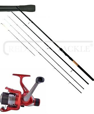 Shakespeare Omni Reel +10 Ft 3pc Float & Feeder Rod In One Course Fishing Tackle • 38.75£