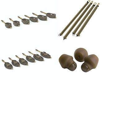 Matrix Alloy Method / Open End Feeders / Elasticated Feeder Tube / Rubber Beads • 3.49£