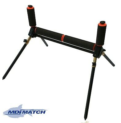 MDI Match 4 Leg Fishing Pole Roller With Extending/Folding Legs Size 13  (33cm)  • 16.99£