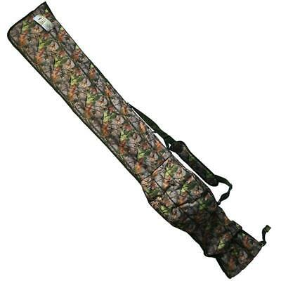 NGT Camouflage Padded Rod Holdall Bag 3+3 For 12ft Rods Carp Fishing Tackle • 21.58£