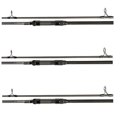 Avid Traction Pro 12ft 3.5lb T.C Carp Rod -Set Of 3- *New 2019* - Free Delivery • 264.50£