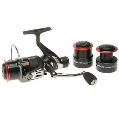 Shakespeare Agility Match / Feeder  Spin Spinning  Fishing Reel 40 Rear Drag  • 25.70£