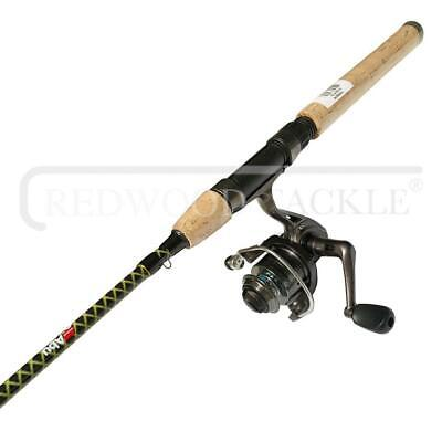 ABU GARCIA 6FT Spinning Fishing Rod And 4BB Contender Reel Combo • 28.79£