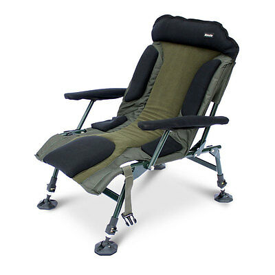ABODE® Carp Fishing Camping Folding Easy-Arm™ Lo-Armchair Sport Chair • 79.99£