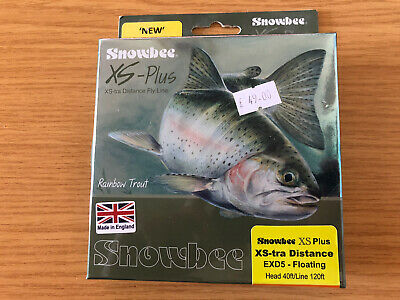 Snowbee XS Plus 5wt Floating Fly Line • 30£