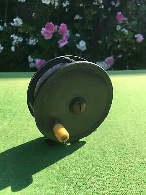 Vintage Antique Dingley 4 Alloy Salmon Fly Fishing Reel  • 50£
