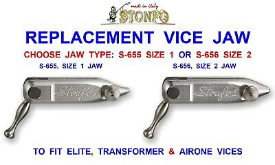 Stonfo Vice Jaw For Fly Tying 653 Morsetto Elite 654 Transformer 699 Airone Vice • 49.50£