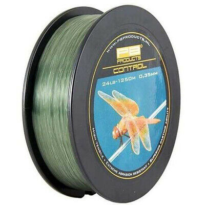 PB Products Control Mono 00.30mm 18lb 1250m  Fishing Line Carp Monofilament Line • 24.99£