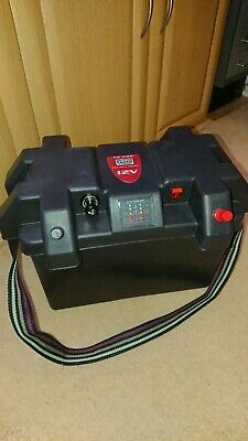 Xe 290 British Anzani  Battery Box Carrier With Led Meter, Breaker & 12v Socket  • 40£