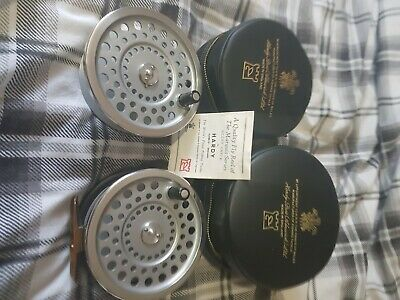 Hardy  Marquis  2 Silent With Spare Spool Superb Condition • 41£