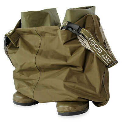 Dirt Boot Amphibian Chest Waders 100% Waterproof Nylon Wader • 49.99£