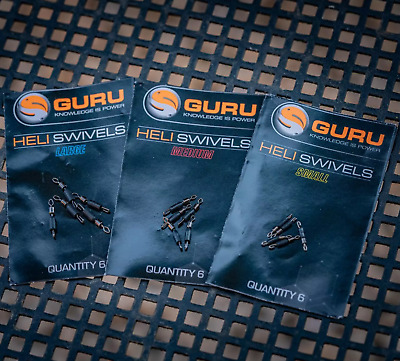 Guru Heli Swivels • 2.99£