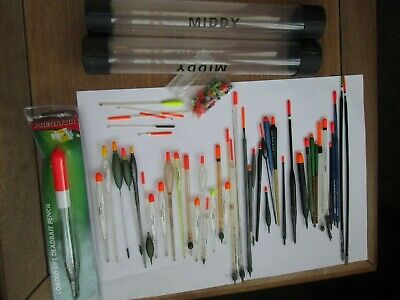 Collection Of Fishing Floats Drennan Middy Preston Middy Float Tubes • 5.99£