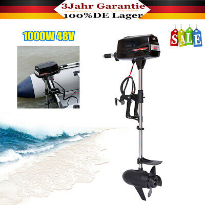 Heavy Duty 8 HP Electric Outboard Fishing Motor Boat Engine Brushless Motor New • 551£