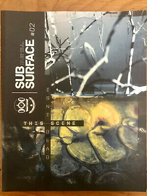 Subsurface Journal #02 This Scene Aint Dead. Carp Fishing Book • 20£