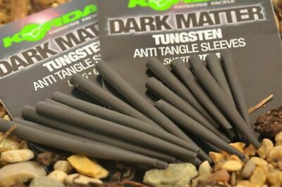 Korda Dark Matter Tungsten Anti Tangle Sleeves *New* - Free Delivery • 4.49£