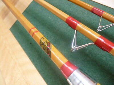 Allcocks Lucky Strike 10`6   Split Cane Rod • 130£