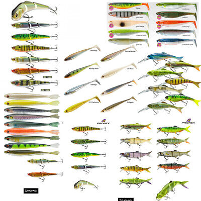 Prorex Daiwa Ultimate Lure Package Rrp Over £1000 Save 80% • 199.99£