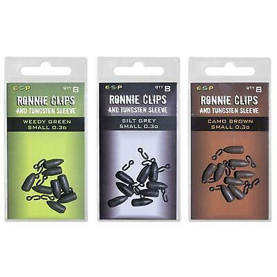 ESP Ronnie Clips With Tungsten Sleeves • 5.75£