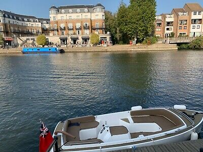 English Harbour 16 Motor Cruiser & SBS Trailer • 25,000£