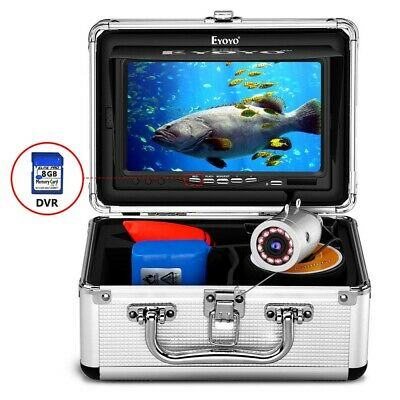 Eyoyo 30M  7'' Display Screen Fishing Camera IR LED Monitor Fishfinder Machine • 186.89£