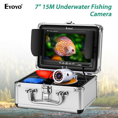 Eyoyo 7  LCD 15M Underwater Fishing Camera Fish Finder Waterproof For Lake Boat • 132.79£