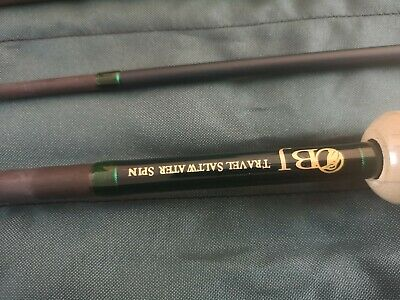 Travel Saltwater Spinning Rod • 80£