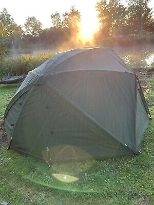 Aqua (100) Pioneer Bivvy System With Wrap & SPARE GROUNDSHEET! • 0.99£