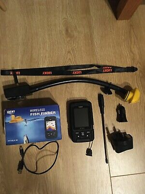Lucky Wireless Fish Finder Sonar FF718LIC-w Fits To Any Bait Boat. 150 Yard + • 90£