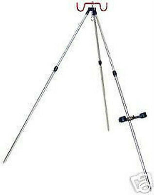 SEA FISHING BEACHCASTER  TRIPOD / ROD REST UP TO 6FT In Black  • 38.89£