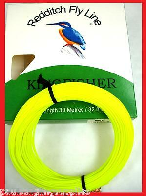 Lemon Kingfisher Of Redditch Weight Forward Floating Fly Fishing Line 30m  • 10.56£