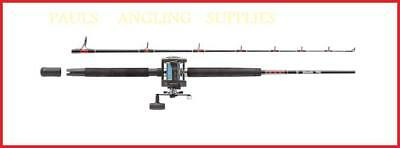 Abu Garcia Muscle Tip  Boat Fishing Rod & Abu Multiplier Reel With Line  • 73.63£