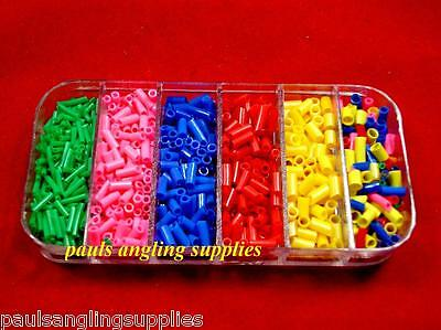 Max Performance  Assorted Pole / Float Fishing Rubbers In Box Small Sizes • 4.70£