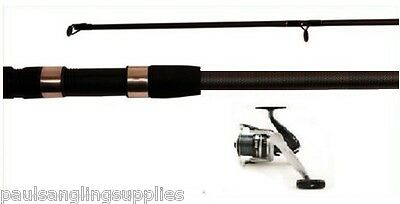 Wild Fishing 5lb Carbo Spod Rod + Reel , Line For Carp Bait Marker Etc • 46.15£