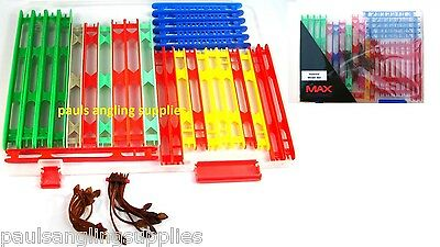 Fishing Float Storage Winder Box ,Assorted  Winders & Anchors   • 14.61£