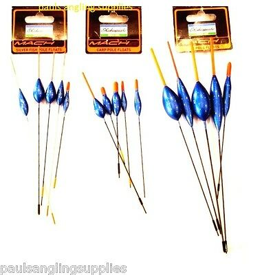 Shakespeare Mach Fishing Float Selection ,River , Carp , Wagglers   5 Per Pack  • 11.06£