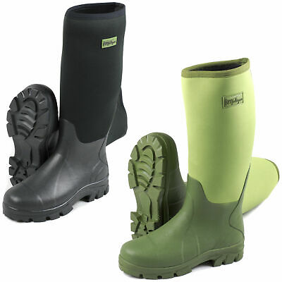 Michigan Neoprene Waterproof Wellington Fishing Boots Wellies • 29.99£